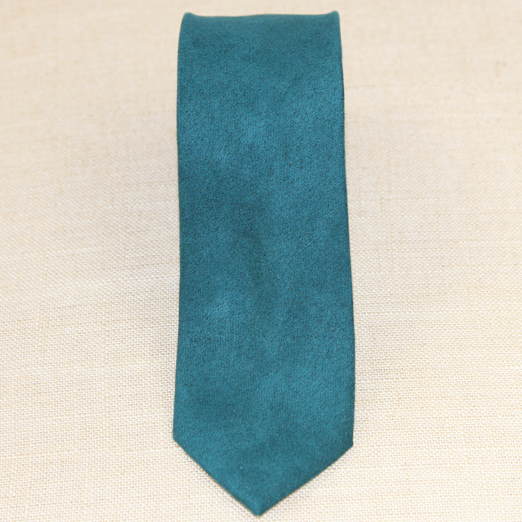 Green Felted Cashmere Tie