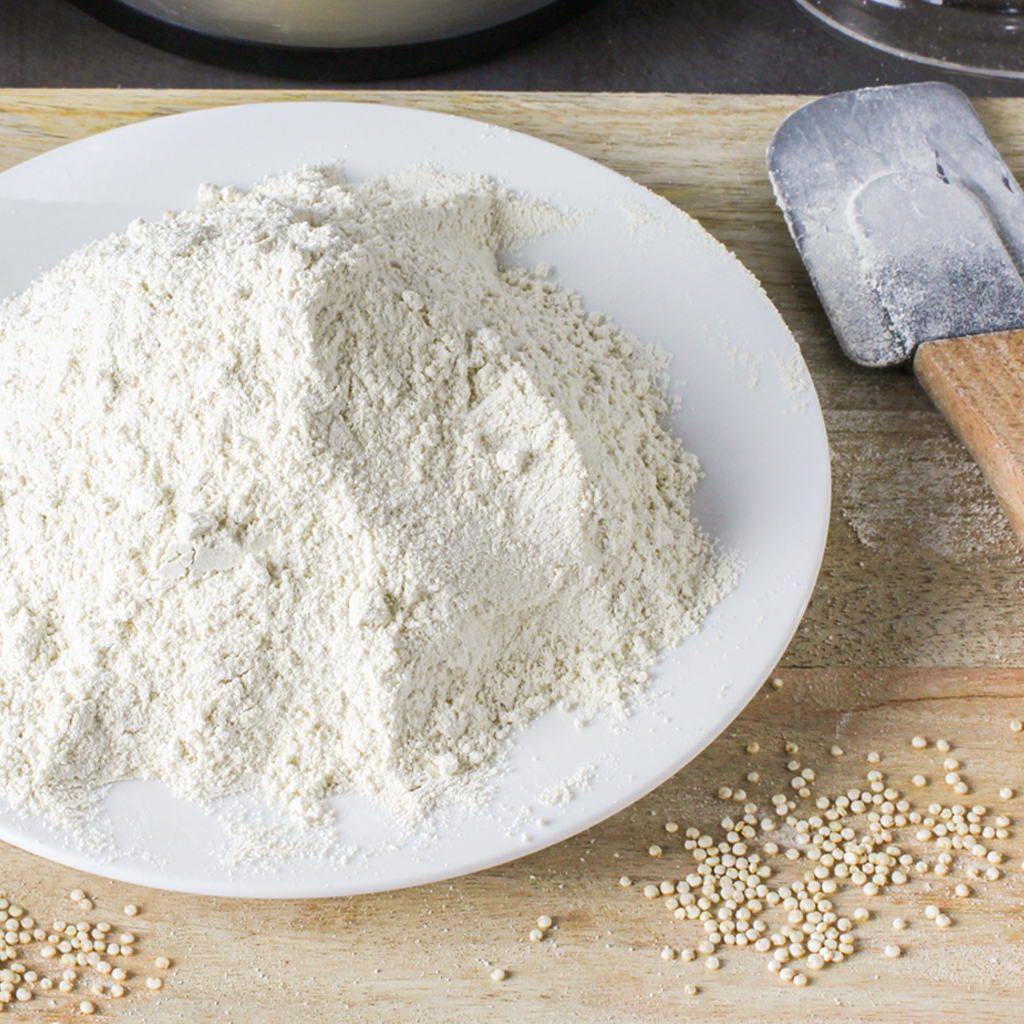 How to make homemade gluten free flour in a blender