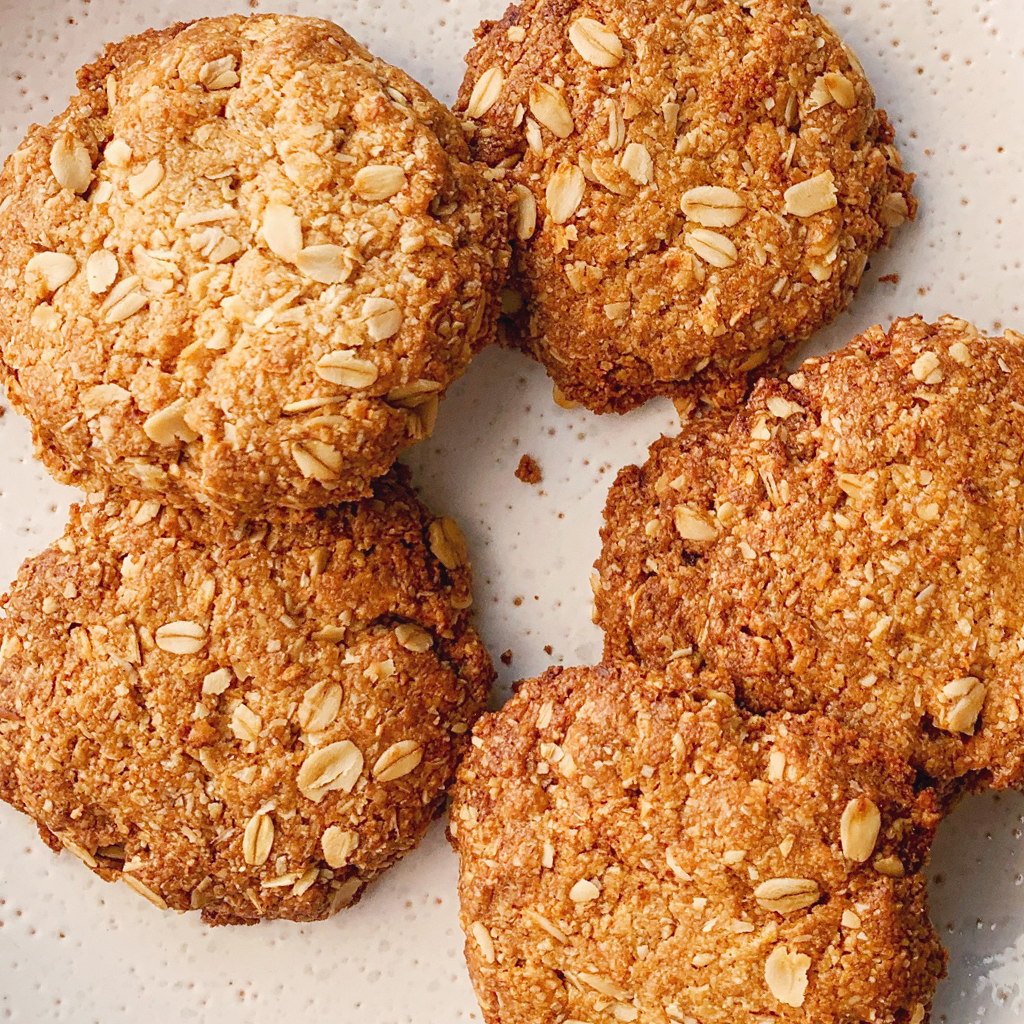 One bowl blender coconut oat cookies