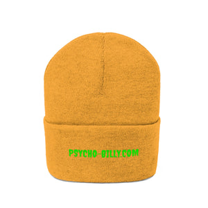 """PSYCHO-BILLY.COM"" Knit Beanie"