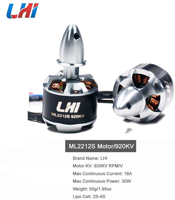 ML2212S 920KV Brushless Motors