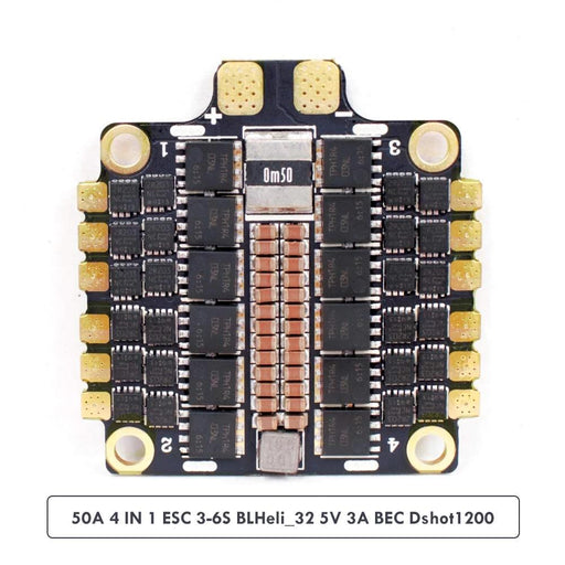 HAKRC 50A 4 in 1 ESC for F405 F722 Flight Controller