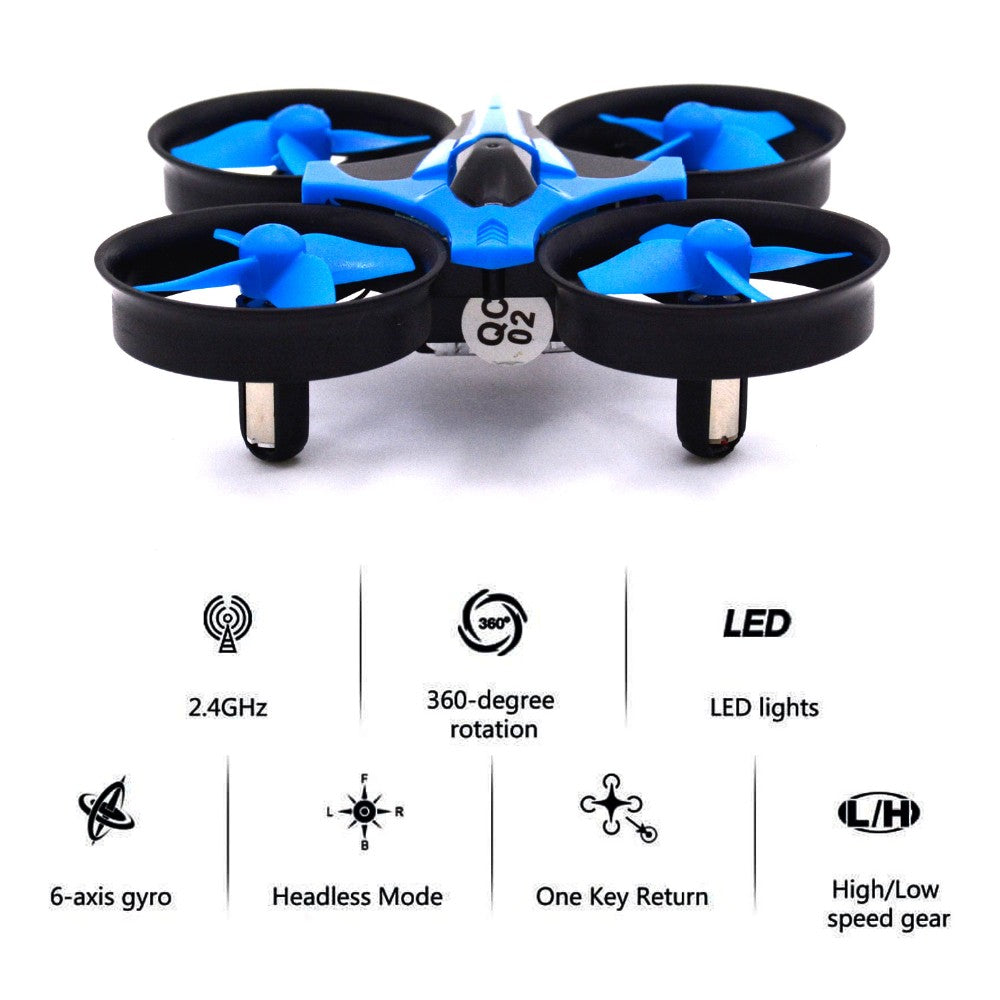 H36 Mini Drone 6 Axis RC Micro Newest Quadcopter