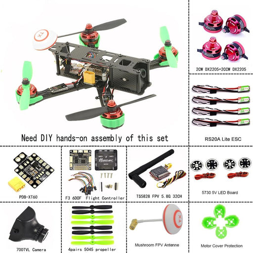LHI Upgrade 220 Race Quad ARF Kit