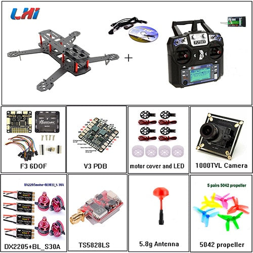 QAV250 DIY Senior Quadcopter Kit