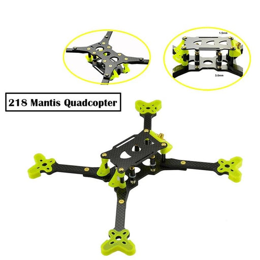 LHI 218mm Mantis Carbon Fiber Frame Kit