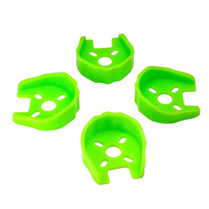 Green Color Motors 4Pcs Protected Base