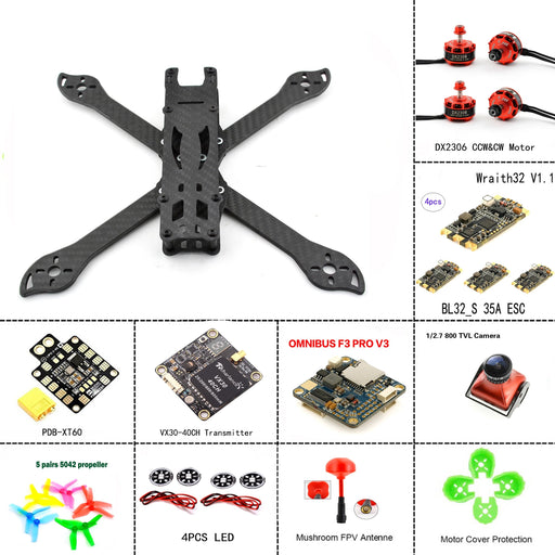 240mm PUDA Frame Quadcopter ARF Kit