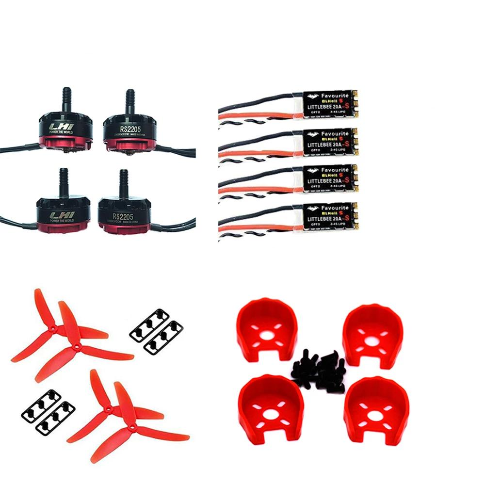 4 x RS2205 2300KV Brushless Motor + LittleBee Spring 20A ESC
