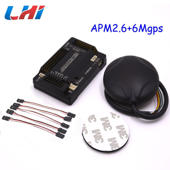 Apm2.6 Flight Controller + 6M Gps