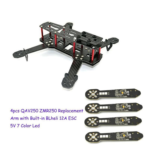QAV250 Frame + Replacement Glass Fiber Arm
