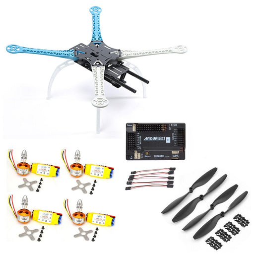 Rc Car Hsp S500 Quadcopter Frame W/ Apm2.6 Flight Controller Xxd 2212 30a