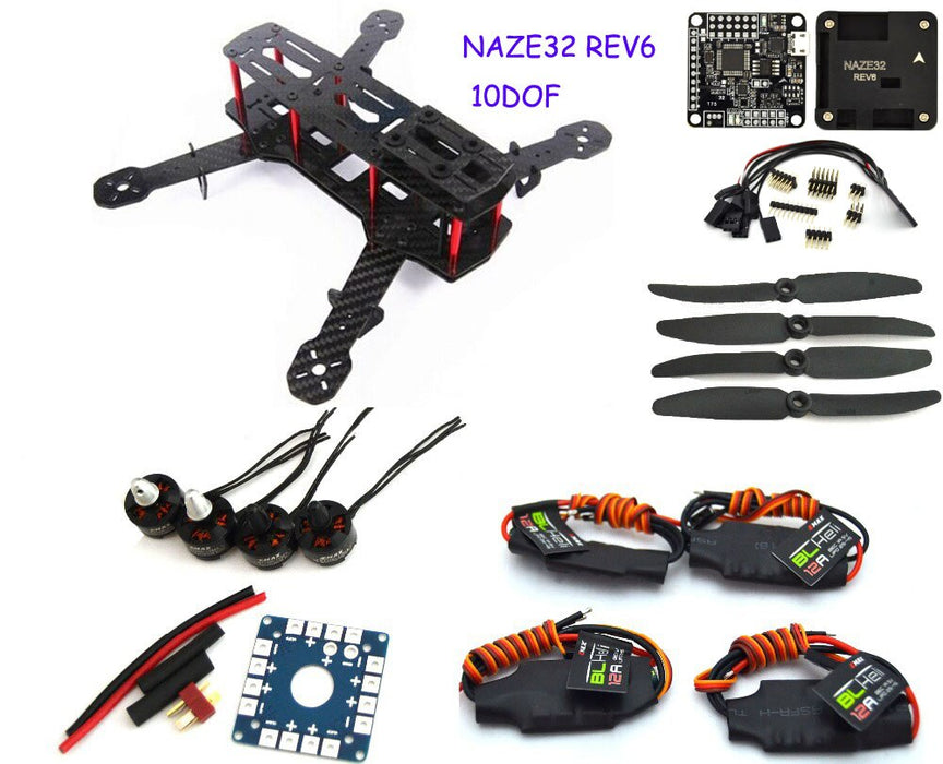 Carbon Fiber Mini Qav250 FPV Quadcopter