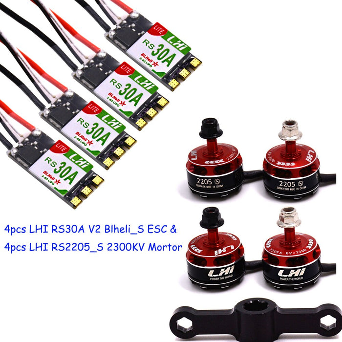 LHI 2205_S Brushless Motor&RS 30A
