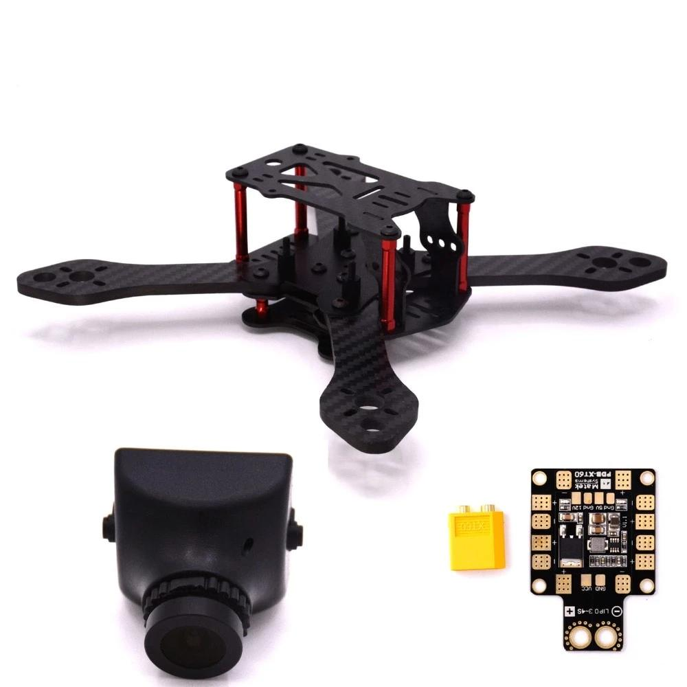 Martian III Carbon Fiber Quadcopter Frame camera drone 190mm 4-Axis 4mm Arm with Power Distribution Board & XT60