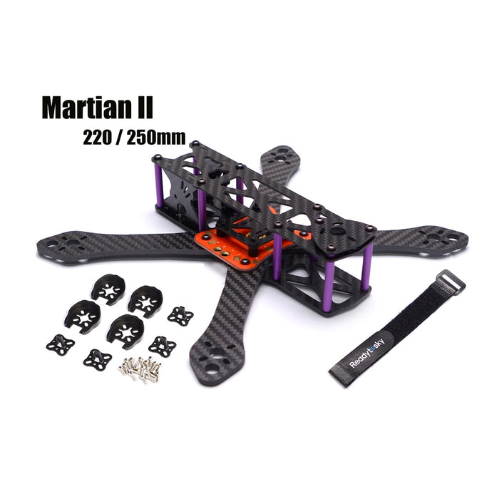 Martian II 220 / 250mm Carbon Fiber Frame
