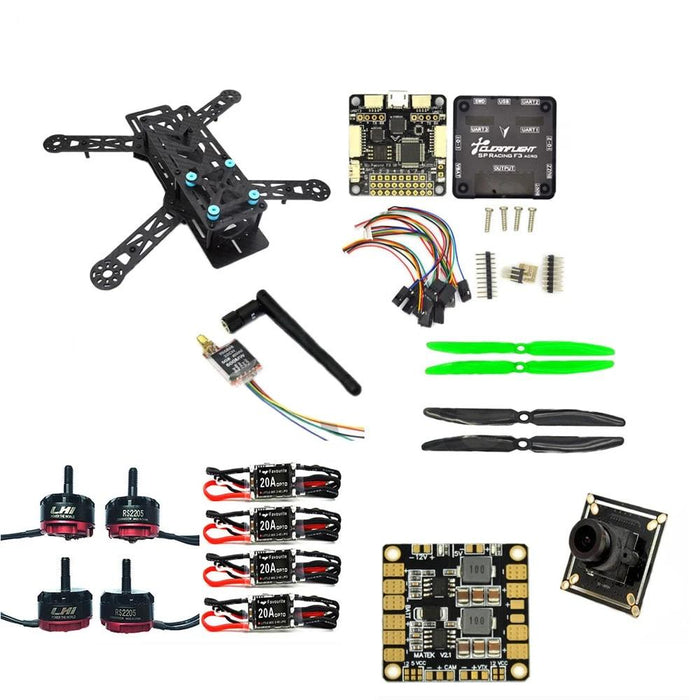 LHI Diy qav250 quadcopter frame kit