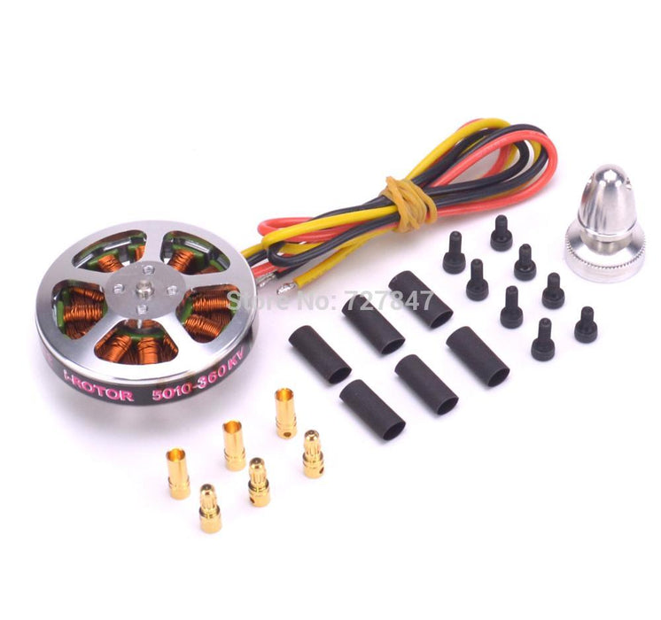 5010 360KV / 750KV Brushless Motors