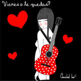 ANABEL-LEE. VESTIDO GUITARRA