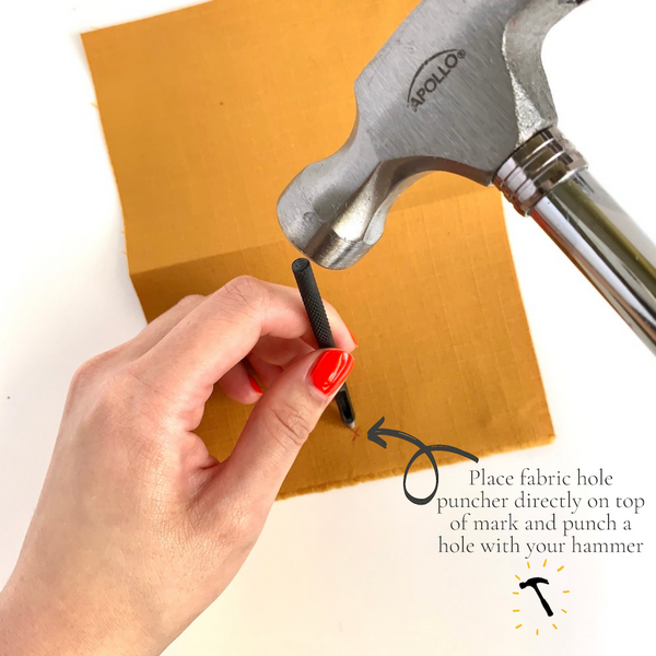 Snap Installation Hole Punch