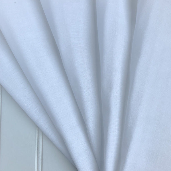 Cotton Double Gauze - Solid White