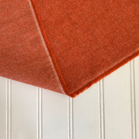 Organic Brushed Cotton Yak Wool Twill Flannel - Pumpkin
