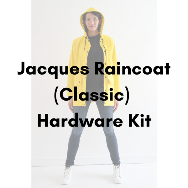 I AM PATTERNS Jacques Raincoat (Classic View) Hardware Kit - Antique Gold