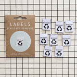Kylie and the Machine - RECYCLED Woven Sewing Labels