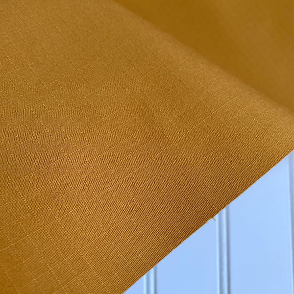 Japanese Stretch Cotton Ripstop - Mustard