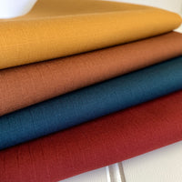 Japanese Stretch Cotton Ripstop - Rust
