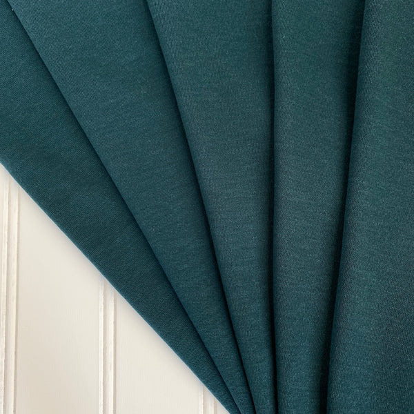 Japanese Tencel Wool Blend Knit Jersey - Teal