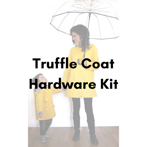 Lara Sanner Truffle Coat Hardware Kit - Antique Gold