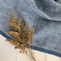 Midweight Linen (Extra Soft) - Blue Chambray