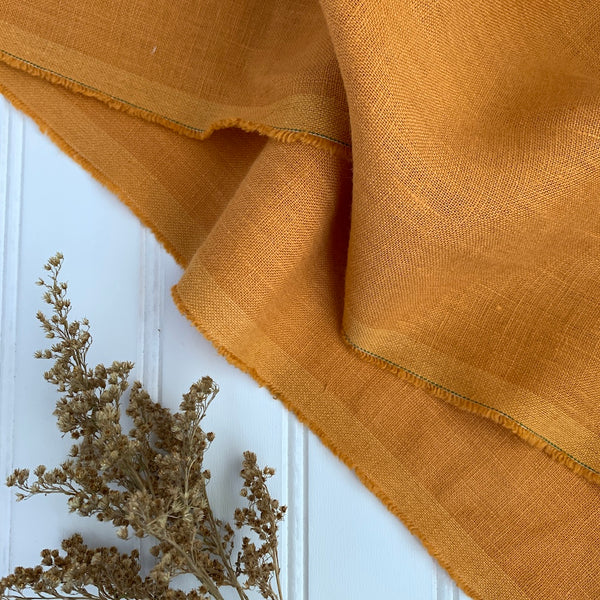 Midweight Linen (Extra Soft) - Butterscotch