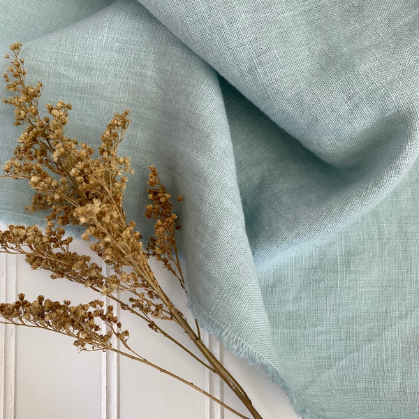 Midweight Linen (Extra Soft) - Sea Glass Blue