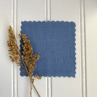 Midweight Linen (Soft) - Dusty Periwinkle
