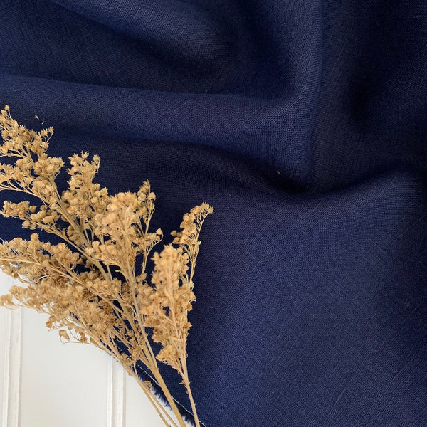 Midweight Linen (Soft) - Royal Blue