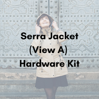Pauline Alice Serra Jacket (View A) Hardware Kit - Antique Gold