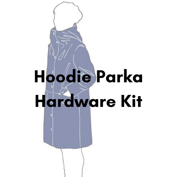 The Assembly Line Hoodie Parka Hardware Kit - Antique Gold