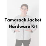 Grainline Studio Tamarack Jacket Hardware Kit - Antique Gold