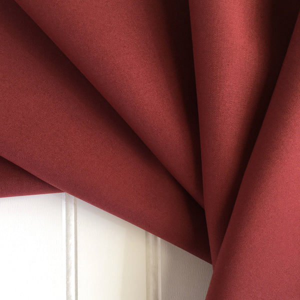 fan folded british millerain red waxed cotton