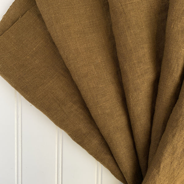 Midweight Linen (Extra Soft) - Chocolate Brown