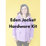 Tilly and the Buttons Eden Jacket Hardware Kit - Antique Gold