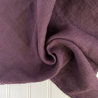 Midweight Linen (Extra Soft) - Eggplant Purple