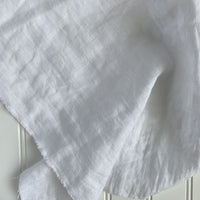 Midweight Washed Linen - Marshmallow