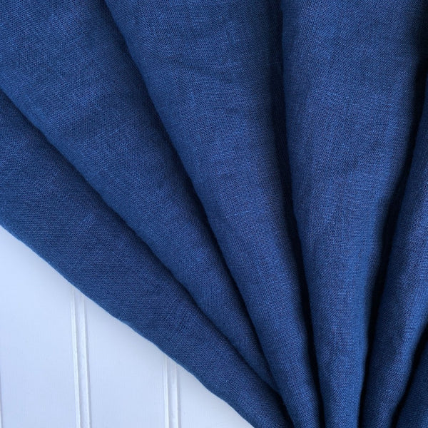 blueberry washed linen