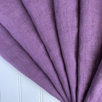 lavender washed linen