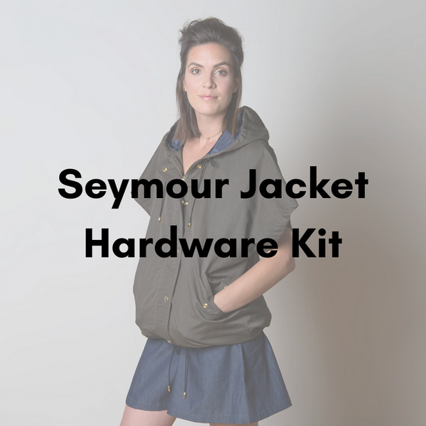Sewaholic Seymour Jacket Hardware Kit - Antique Gold