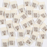 Kylie and the Machine - SIZE ME/YOU Woven Sewing Labels