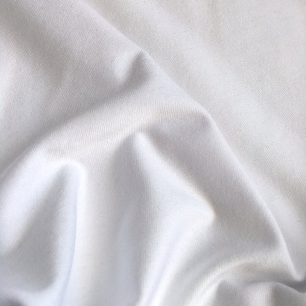 White Tencel and Organic Cotton Jersey
